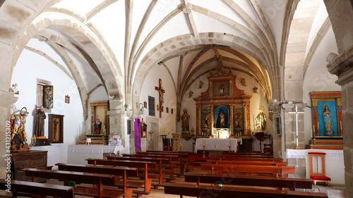 Lerretsbilde Iglesia de San Sebastián de Garabandal, Cantabria, España