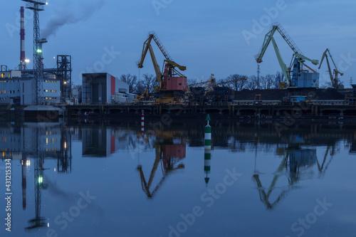 Obraz Port Wrocław - fototapety do salonu