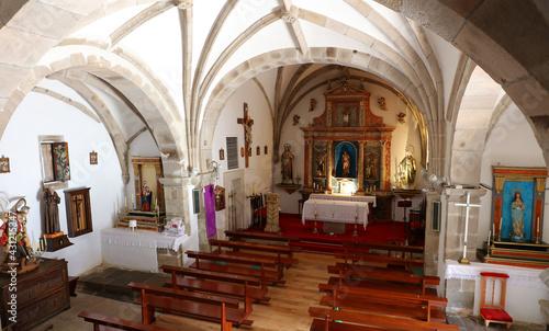 Fotografering Iglesia de San Sebastián de Garabandal, Cantabria, España