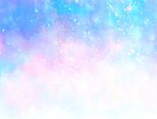 虹色 背景壁紙 光の粒