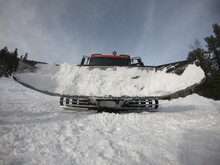 Snow Truck With A Blade