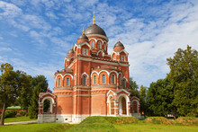 Spaso-Borodino Convent. Cathedral Of The Vladimir Icon Of The Mother Of God, 1851-1859. Mozhaysky District, Moscow Region, Russia
