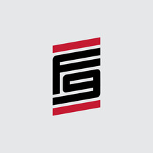 Vector Logotype. F9 - Design Element Or Icon. Letter F And Number 9 - Logo.