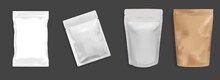 Flexible And Pouch Packaging 3D Illustrator