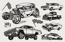 Custom Cars Vintage Concept