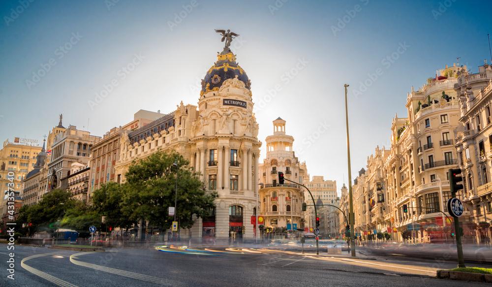 Fotografie, Obraz Madrid