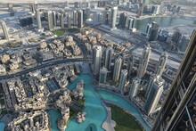 Vue Aérienne De Dubai, Immeuble Et Tour