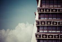 Historic Home Of The Dalai Lama, Lhasa, Tibet. An UNESCO World Heritage Site.
