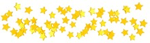 Goldener Sternenregen