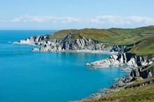 View From Morte Point, North Devon, England