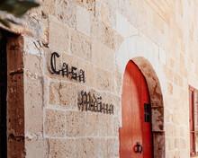Old Door In The City Of Mdina