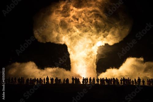 Fototapeta Nuclear war concept