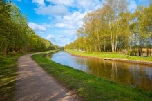 Bridgewater Canal And Tow Path Greater Manchester UK