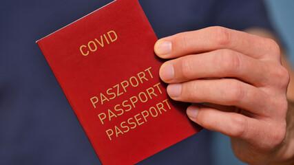 Paszport covidowy.