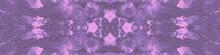 Boho Dye Textures. Pink Seamless Dye. Gray Tie