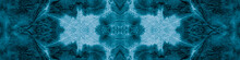 Kaleidoscope Tie Dye. White Seamless Bleached.