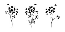 Floral Ornamental Decorative Vector