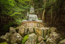 Shoshazan Engyo-ji Engyoji Temple, Mount Shosha. Famous Japanese Buddhist Temple, Japan.