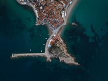 The Small Village Cape Of Kokkari In Samos, Greece