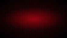 Background Of Hexagons Of Red Color With Radiance