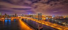 New York City - Manhattan Bridge, Brooklyn Bridge, Flatiron Building, Central Park...