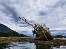 Old Boat In Alaska