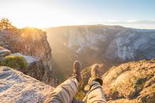 Overlook In Yosemite