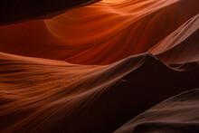 Antelope Canyon Light On The Rocks