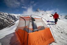 Camping In Nepal, Annapurna