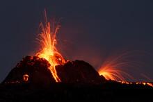 Volcanic Eruption Reykjanes Peninsula Iceland