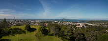 Panorama Of Auckland City From Mount Eden