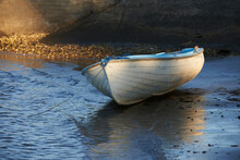 Dinghy At Waters Edge
