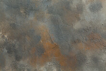 Abstract Rusty Background Texture Concrete Wall