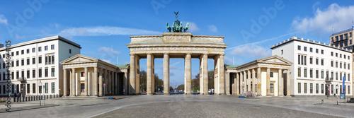 Fototapeta Berlin Brandenburger Tor Brandenburg Gate in Germany panoramic view obraz