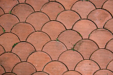 Red Tiles Texture