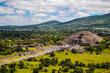 Aztec Pyramid in Mexico