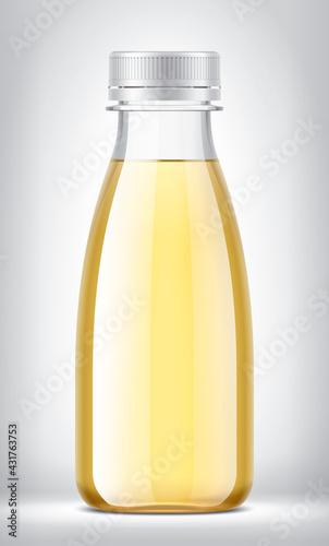 Fototapeta Plastic Bottle on background.  obraz
