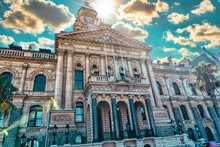 Cape Town City Hall With A Little More Lustre Than Usual, South Africa