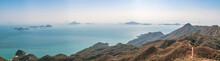 Wide Angle Landscape Of Country Park Near Tai O, Lantau Island, Hong Kong