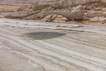 Sinkhole At The Dead Sea, Created Inside The Water
