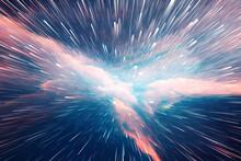 Abstract Nebula Background