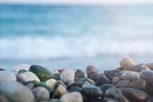 Empty Pebbles Beach
