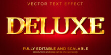 Golden Royal Text Effect, Editable Shiny And Rich Text Style.