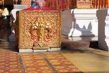 Buddhist Temple (wat Doi Suthep) In Chiang Mai (thailand)