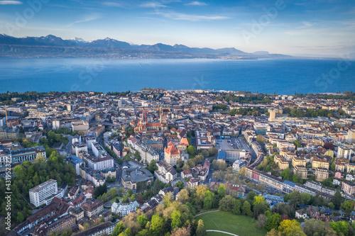 Lausanne Fototapeta