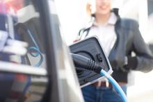 Fuel Pump Inside Open Car Gas Tank