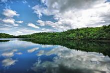 Pink Lake, Gatineau Provincial Park, Quebec, Canada