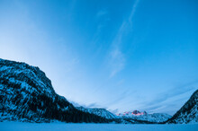 Sunset See From Colchuck Lake, Cascades, Washington.