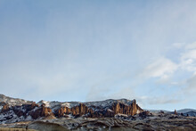 Morning Light On The Cliffs Near Buffalo Bill Cody State Park