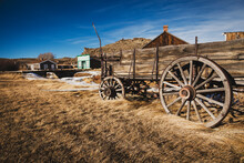 Ghost Town Of South Pass City, Wyoming.